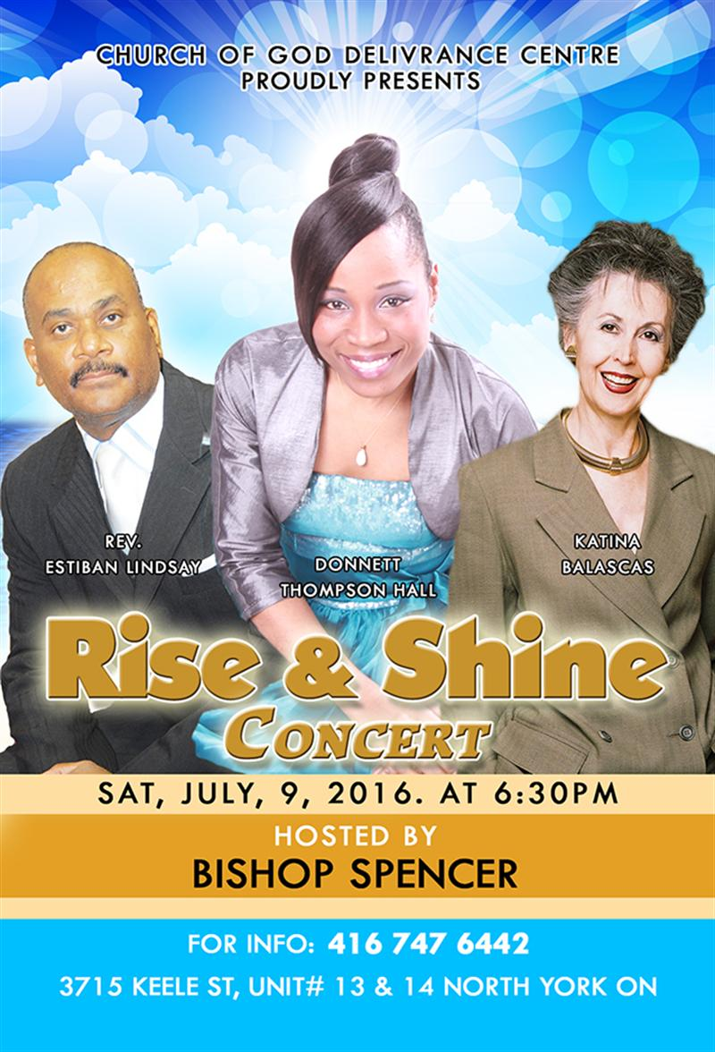 Rise & Shine Concert in Toronto
